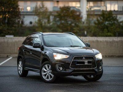 gebraucht Mitsubishi ASX 2.0 4WD /NAVI/4x4/AUTOMATIK/LEDER/PANORAMA..