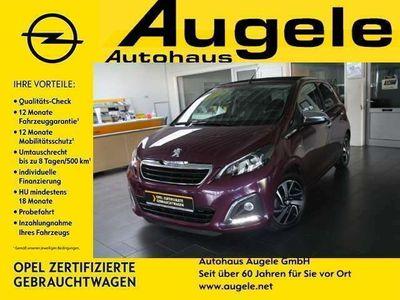 gebraucht Peugeot 108 Rückfahrkamera, Klimaanlage, Faltdach