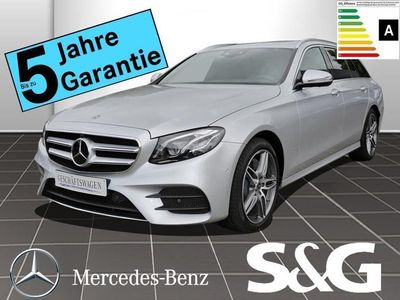 gebraucht Mercedes E300 T AMG-Line COMAND/LED/Schiebedach/360°Ka