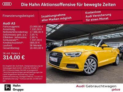 gebraucht Audi A3 Cabriolet design 1.4 TFSI cylinder on demand ultra 110 kW (150 PS) 6-Gang