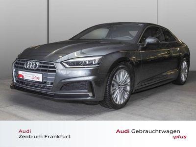 gebraucht Audi A5 Coupé 40 TFSI S tronic S line LED Navi Tempom S