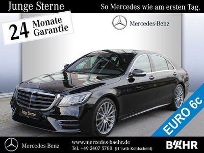 gebraucht Mercedes S400 d 4M Limousine lang AMG Line/COMAND APS
