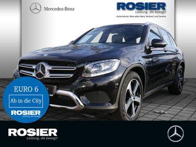 gebraucht Mercedes GLC220 d Exclusive 4Matic AHK Abstandstemp. Navi