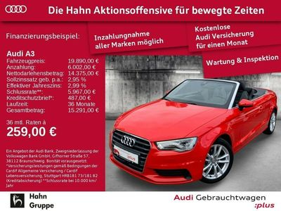 gebraucht Audi A3 Cabriolet Ambition 2.0 TDI 110 kW (150 PS) 6-Gang