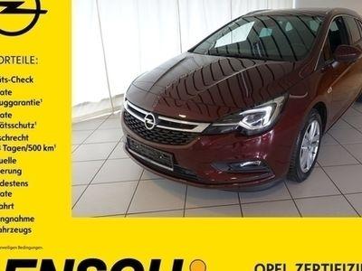 gebraucht Opel Astra ST 1.0 AUTOM+NAVI+MATRIX+AGR+RFK+SHZ