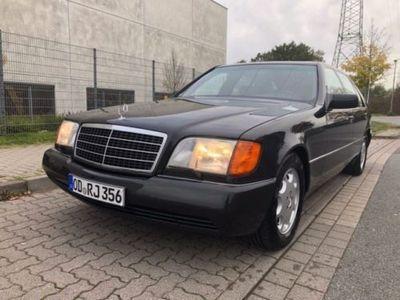 używany Mercedes 600 SEL - 1. Serie - Coupe-Sitzbank blauschwarz