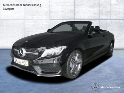 verkauft mercedes c200 cabrio amg line gebraucht 2017 6. Black Bedroom Furniture Sets. Home Design Ideas