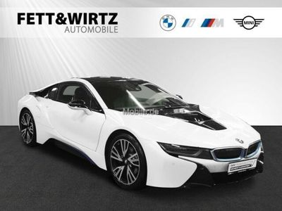 """gebraucht BMW i8 Coupé 20"""" HUD HK NaviProf. LED SHZ DA als Sportwagen/Coupé in Wesel"""