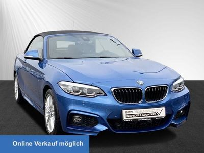 gebraucht BMW 220 d Cabrio M Sport Aut. Navi Business Klimaaut.