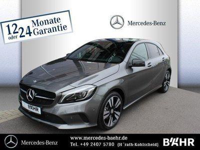 gebraucht Mercedes A180 d Style+Night/Navi/Pano.-Dach/LED-High-Pe. R-CD