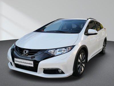 gebraucht Honda Civic 1.6 i-DTEC Sport Tourer Bluetooth PDC MP3 Schn. Klima DPF