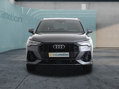 gebraucht Audi Q3 Q335 TFSI S line Navi LED AHK DAB Einparkhilfe