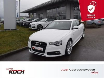 "gebraucht Audi A5 Sportback 3.0 TDI q. S-Tronic S-Line 2x, adapt. light, Navi Plus, Schiebed., LM 19"""