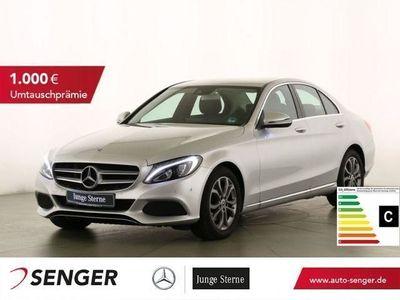 gebraucht Mercedes C180 Avantgarde+LED+Navi+PDC