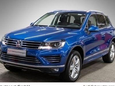 gebraucht VW Touareg 3.0TDI V6 BMT 4M R-Line Navi PDC AHK Xen