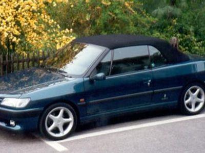 verkauft peugeot 306 cabriolet , gebraucht 1997, 155.000 km in ehrenfeld