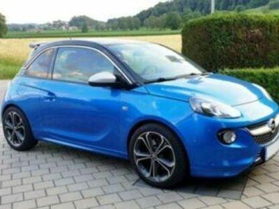 käytetty Opel Adam S 1.4l Turbo - Ardenblau Dach schwarz