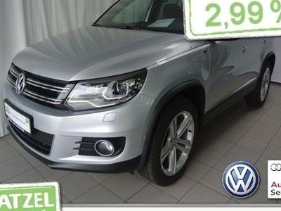 gebraucht VW Tiguan 1.4 TSI DSG Lounge RearView ParkAssist