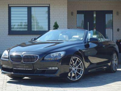 gebraucht BMW 650 Cabriolet i *Service neu, 1.Hand, beige innen*