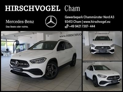 gebraucht Mercedes GLA250 4M AMG-Line+Night+MBUX+LED+Kam+EASY-PACK