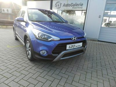 used Hyundai i20 blue 1.0 T-GDI Active Trend
