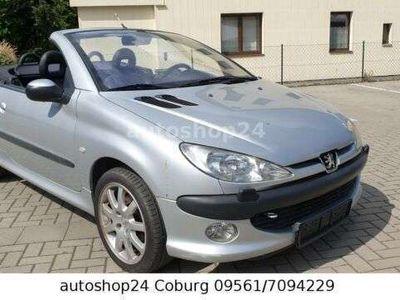 gebraucht Peugeot 206 CC Cabriolet Platinum*TÜV abgelaufen*