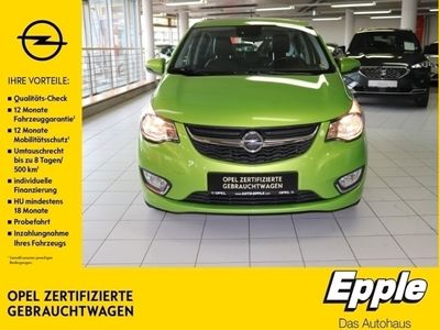 gebraucht Opel Karl Exklusiv 1.0 Multif.Lenkrad NR RDC Klimaautom SHZ Temp PDC USB MP3 ESP Spieg. beheizbar