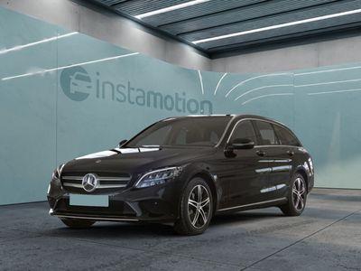 gebraucht Mercedes C180 C 180T Avantgarde Navi LED+ Kamera SHZ PTS Spur