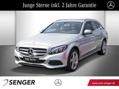 gebraucht Mercedes C350e T AVANTGARDE+NAVI+LED+SHZ+TEMP+7G TRONIC