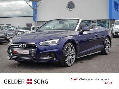 gebraucht Audi A5 Cabriolet 45 TFSI qu. S line Navi*Matrix*DAB*AHK*Dynamiklenk.*B&O