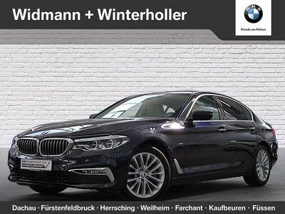 gebraucht BMW 520 d xDrive Limousine Luxury Line Head-Up HiFi