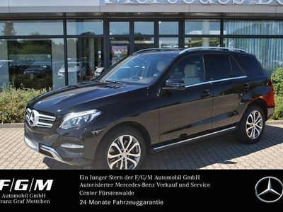 gebraucht Mercedes GLE500 4M Comand/ILS/PTS/Airmatic/Leder beige Styling