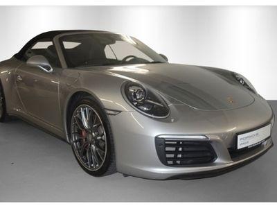 gebraucht Porsche 911 Carrera 4S Cabriolet 991 Sportabgasanlage PDLS+