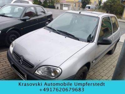 gebraucht Citroën Saxo 1.1 SX TÜV 11.18