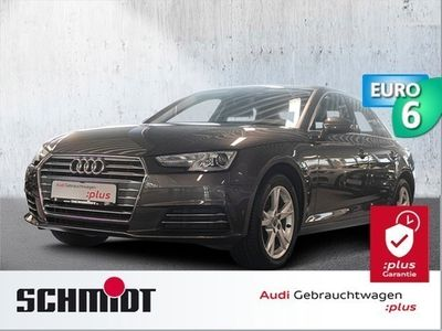 gebraucht Audi A4 Lim. 2.0 TDI S line Sport Navi, Alc./Leder, Komfo