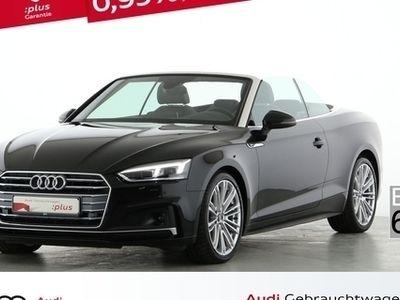 gebraucht Audi A5 Cabriolet 40 sport S line TRON ACC LED ASSIST - Klima,Sitzheizung,Alu,Servo,