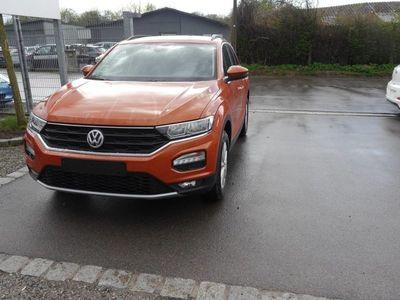 gebraucht VW T-Roc 1.0 TSI DESIGN * ACC WINTERPAKET PDC SITZHEIZUNG TEMPOMAT FRONT ASSIST