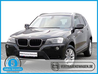 gebraucht BMW X3 xDrive 20dA X-Line NAVI XENON LEDER PANORAMA