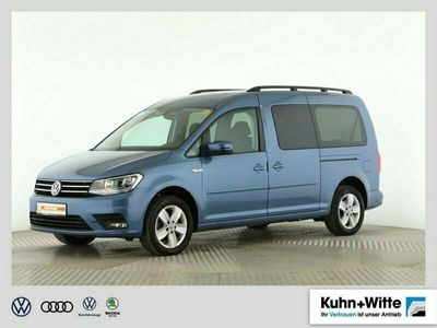 gebraucht VW Caddy Maxi 2.0 TDI Comfortline *DSG*AHK*App-Connect*LM-