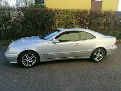 gebraucht Mercedes CLK200 Klima geht.