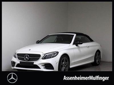 gebraucht Mercedes C200 Cabrio AMG **Facelift/Navi/Kamera/Night