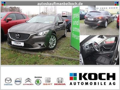 gebraucht Mazda 6 2.2 CD DPF SKYACTIV-D 150 Exclusive-Line (LED)