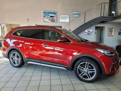 gebraucht Hyundai Grand Santa Fe blue 2.2 CRDI 4WD Automatik Premium