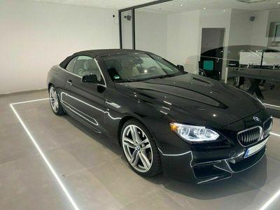 gebraucht BMW 640 Cabriolet i M Sport Edition LED/DAB/Leder Nappa als Cabrio/Roadster in Haselund