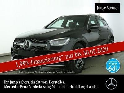 gebraucht Mercedes GLC300 4M AMG Pano LED AHK Spurhalt-Ass SpurPak