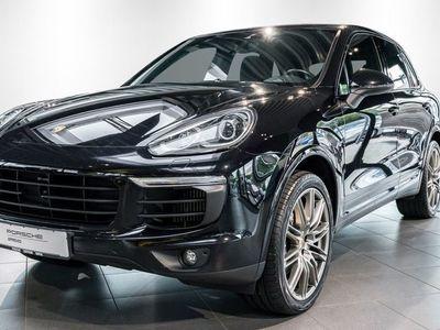 gebraucht Porsche Cayenne S Diesel Platinum Edition /Verf. 11.2017