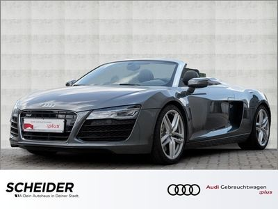 gebraucht Audi R8 Spyder 4.2 FSI qu Navi Klima LED B&O