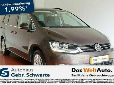 gebraucht VW Sharan 2.0 TDI DSG Comfortline LANE+NAVI