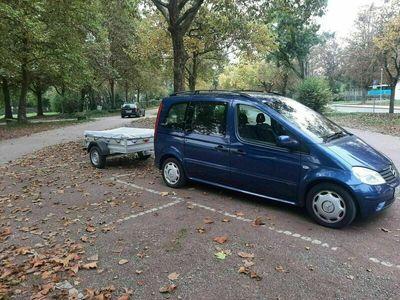 gebraucht Mercedes Vaneo Klima Raumwunder 7 Sitzer AHK