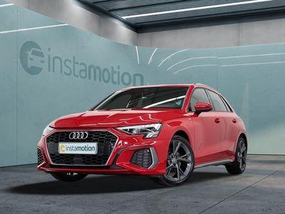 gebraucht Audi A3 Sportback A3 30 TDI 2x S LINE LED eSITZE NAVI KAMERA